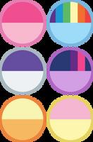 Mane 6 Circle Design by DylanDonohue