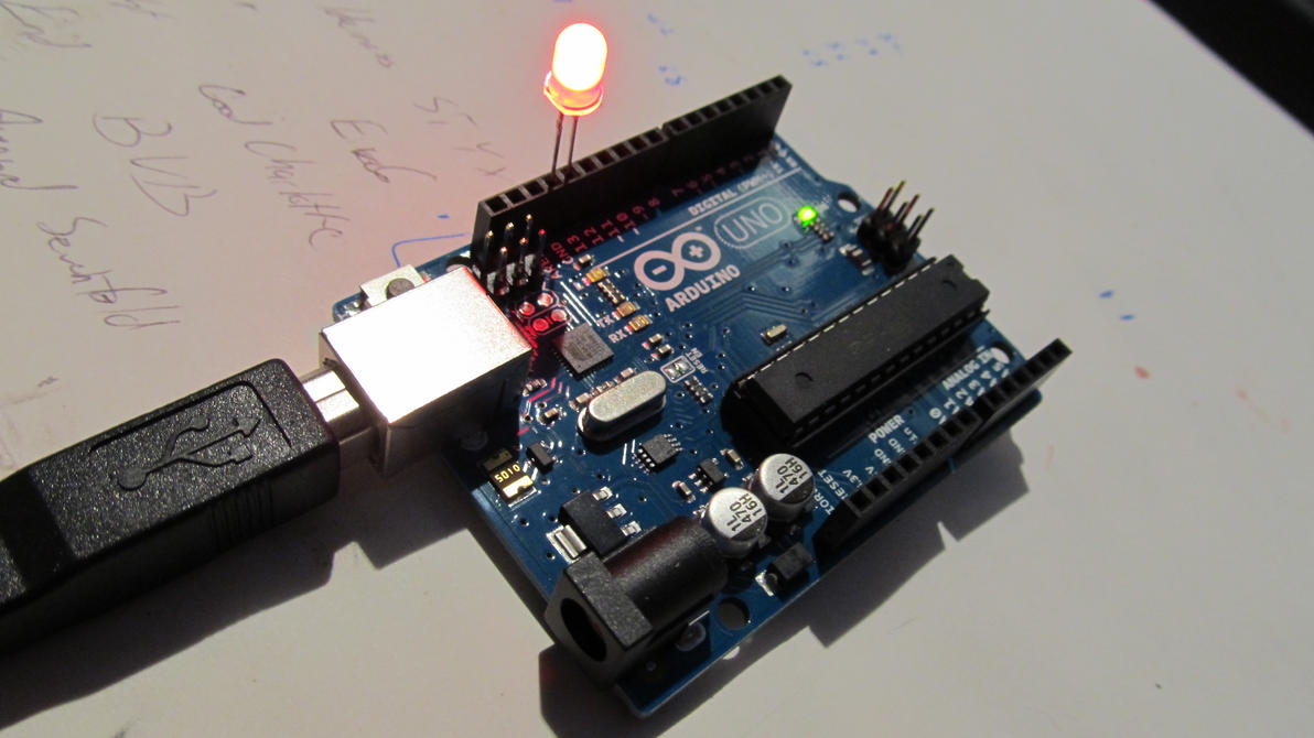 Arduino uno by dylandonohue on deviantart