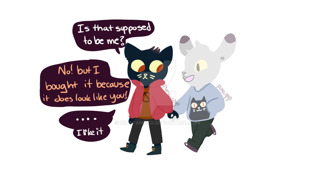 NITW OC and canon shipping garbage by OivaTameko