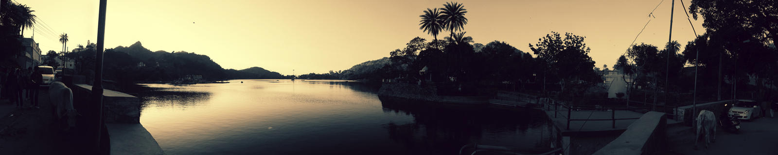 Nakki Lake, Mount Abu by faithlessdream