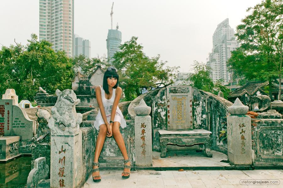 Chinese Graveyard by stefangrosjean