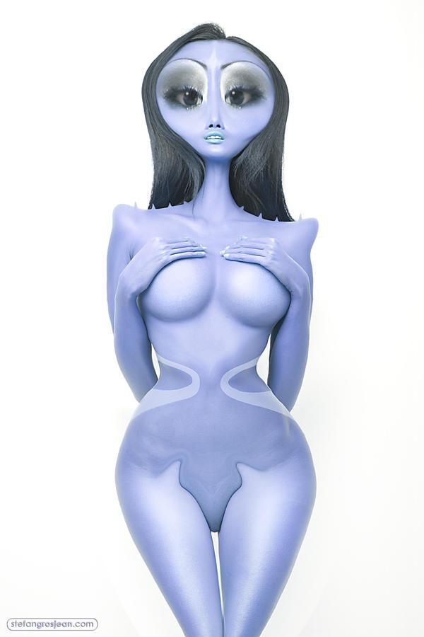 Alien Princess by stefangrosjean