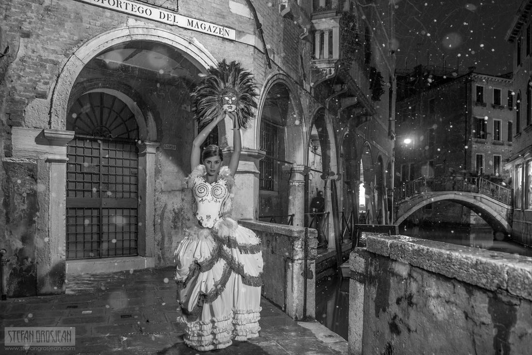 Winter In Venice (Version I) by stefangrosjean