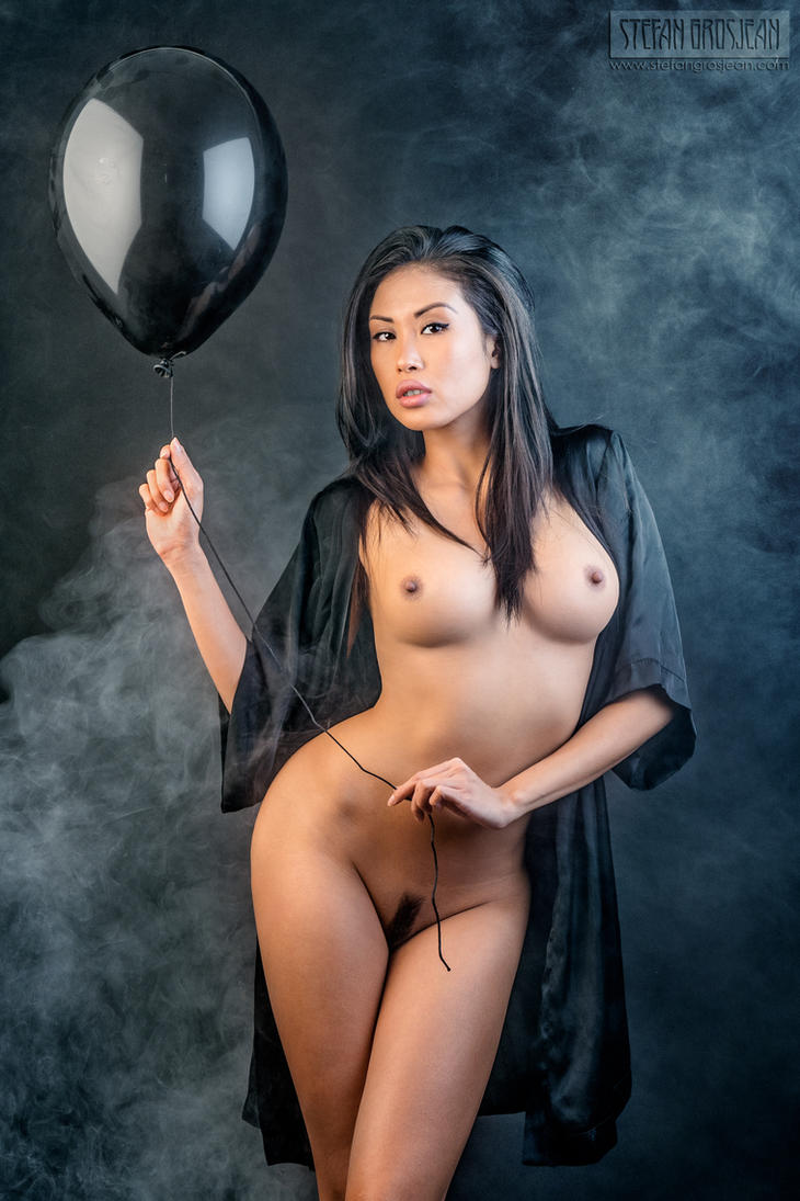 You lose your anonymity like a helium balloon by stefangrosjean