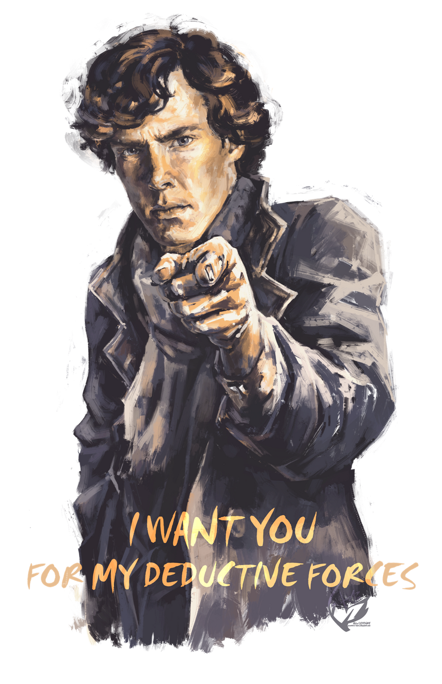 Sherlock : I want you for my deductive forces by Alea-Lefevre