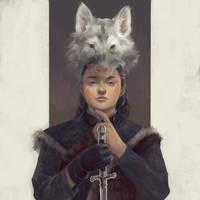 Arya Stark -the wolf spirit