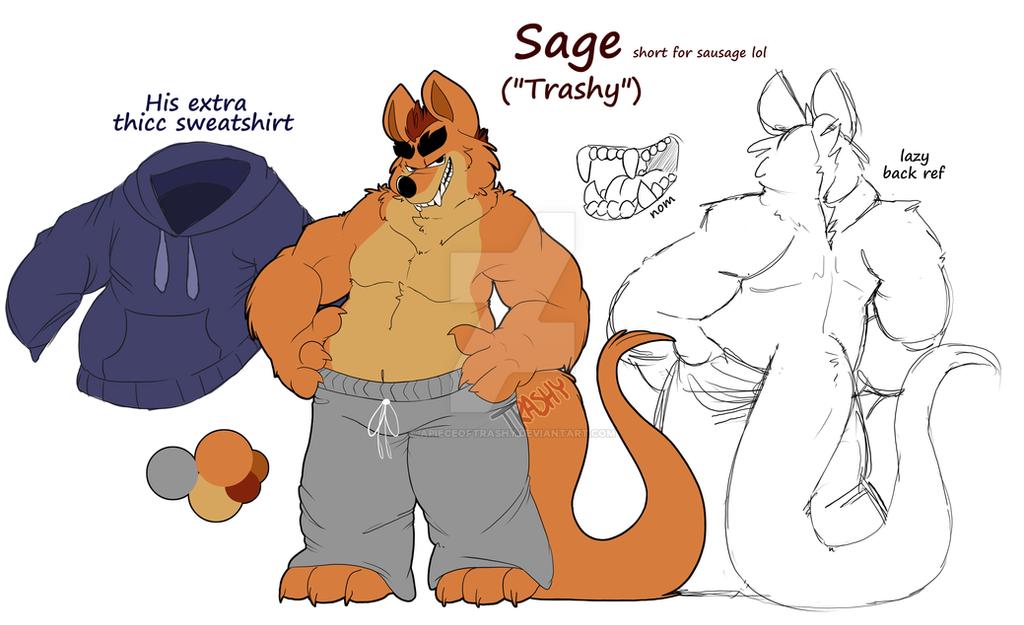 New Sona - - - Sage by APieceOfTrashy