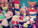 rilakkuma and sweets