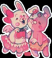 Usami and Monomi
