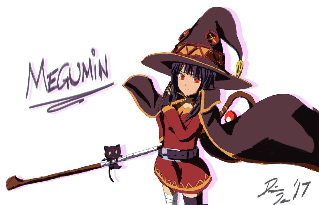 Megumin by WIIGII