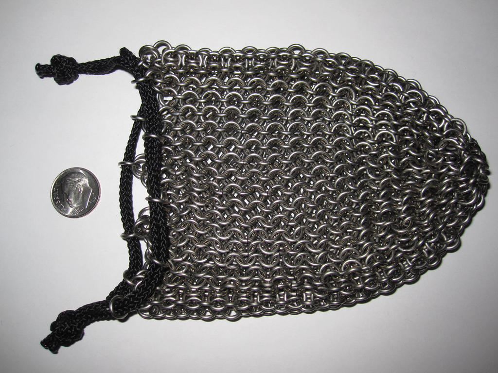 Chainmail pouch, empty by demuredemeanor