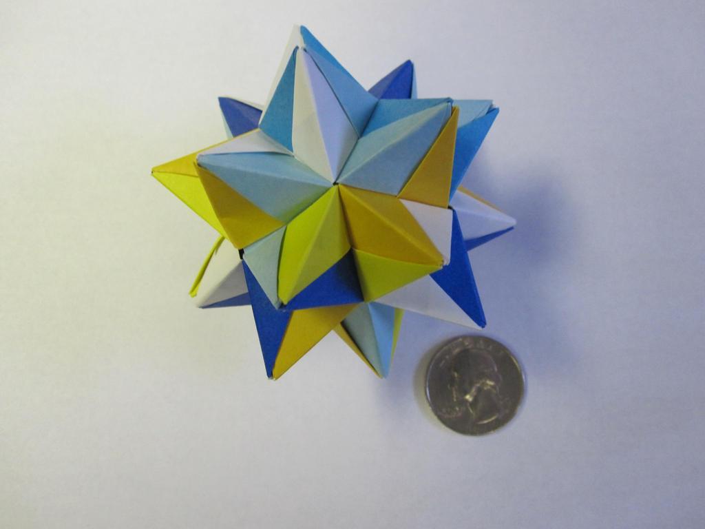 Origami Modular Star by demuredemeanor
