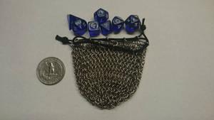 Tiny dice bag, empty by demuredemeanor