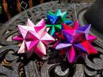 Group of Origami Modular Stars 2