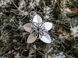 Scalemail Flower - Ornament