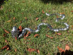 Steel Scalemail Snake - Pose 1