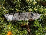 Doubled Honey Comb Bracelet / Choker - 20ga SS