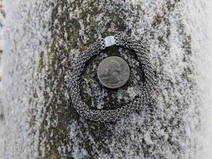 Hoodoo Hex Weave Bracelet - 22ga Stainless Steel