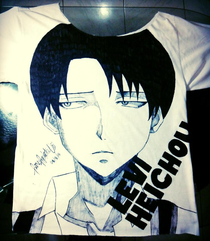 Levi shirt by ren-oniichan