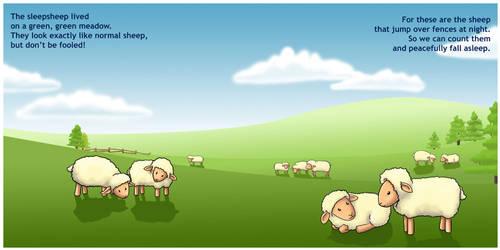 The Sleep Sheep - Page 1 by madelief