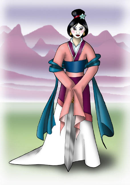 mulan pink dress pictures - 456×650