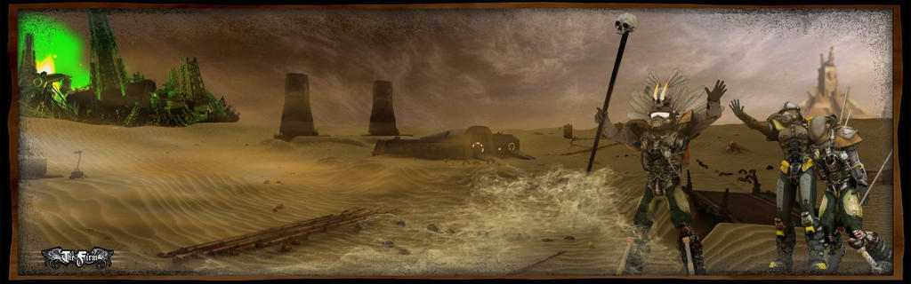 LANDSCAPE MARS planet by kassor