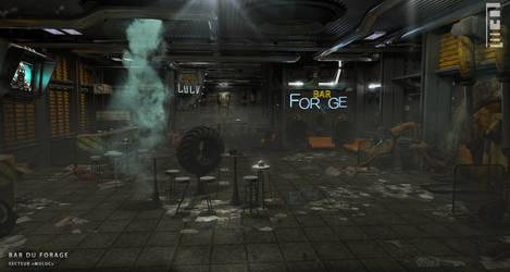 Bar du FORAGE (Terraforming Enterprise of MARS)