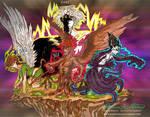 Hawaiian Gods-The Big Four
