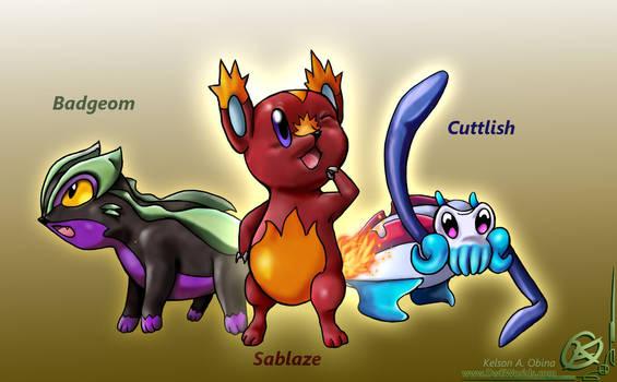 Starter Pokemon concept