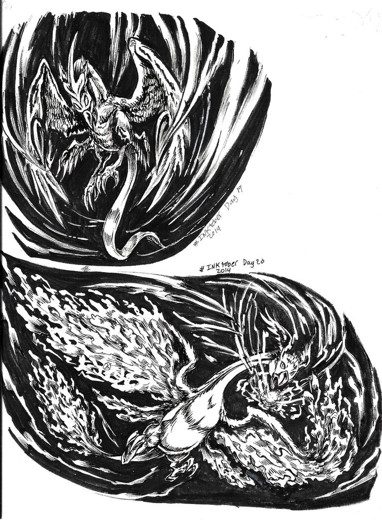 Inktober 2014 Day 19-20 by TheCreationist