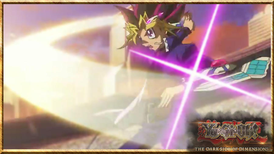 Screencapped wallpaper Yu-Gi-Oh! 2016 movie by TheCreationist