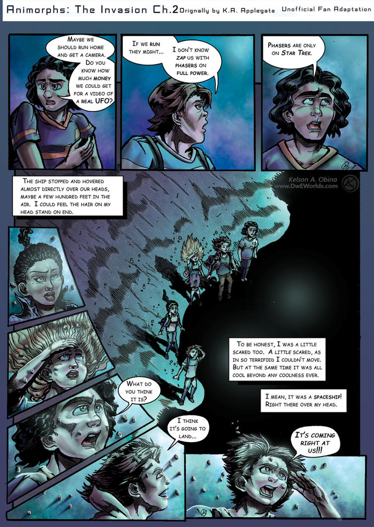 Animorphs: The Invasion Chapter 2 Page 2 by TheCreationist