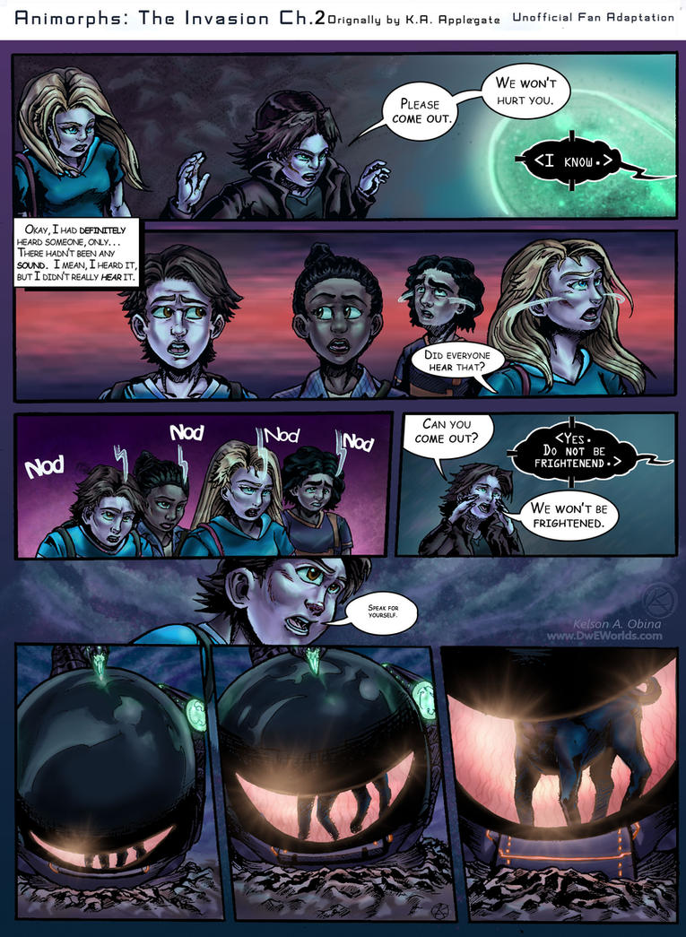 Animorphs: The Invasion Chapter 2 Page 5 by TheCreationist