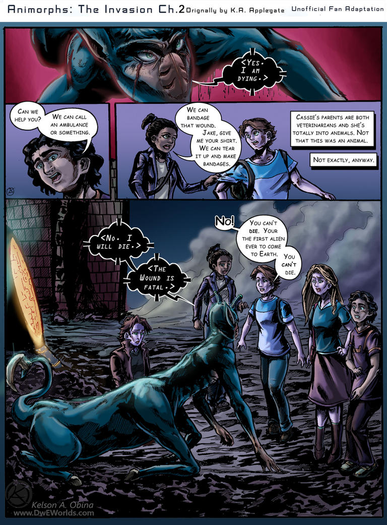 Animorphs: The Invasion Chapter 2 Page 8 by TheCreationist