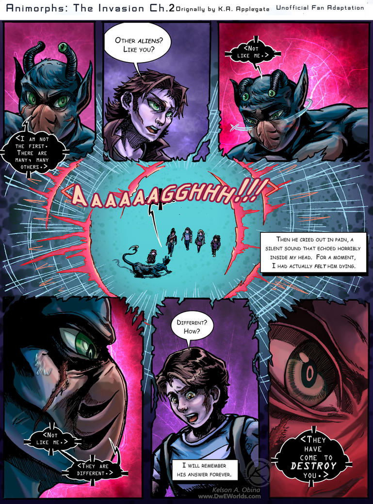 Animorphs: The Invasion Chapter 2 Page 9 by TheCreationist