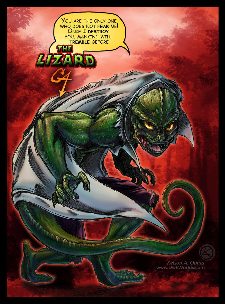 The Lizard GA by TheCreationist