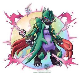Mega Savageshade (Jade)