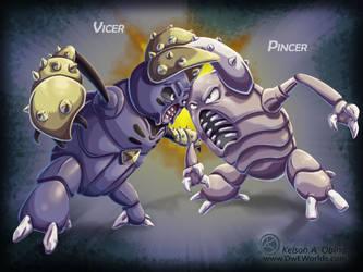 Pinsir vs Vicer