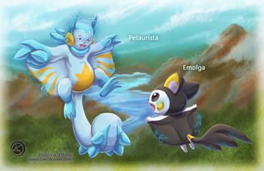 Petaurista meets Emolga