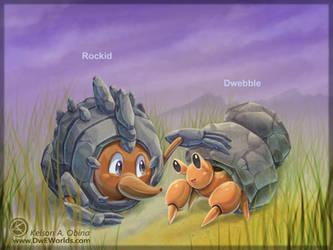 Rockid meets Dwebble