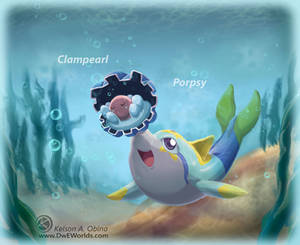 Porpsy meets Clampearl