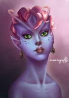 Dark Willow by mariigolds