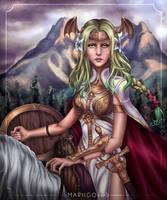 Seiros: Saint of Legend by mariigolds