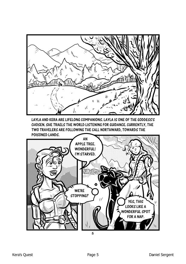 Kera's Quest P.05 by DFSergent