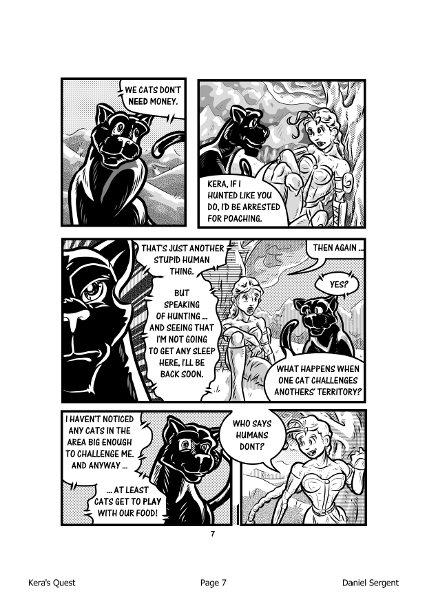 Kera's Quest P.07 by DFSergent