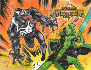 Contest of Champions Sketchcover