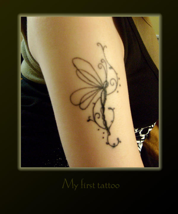 Ink On Skin - dragonfly tattoo