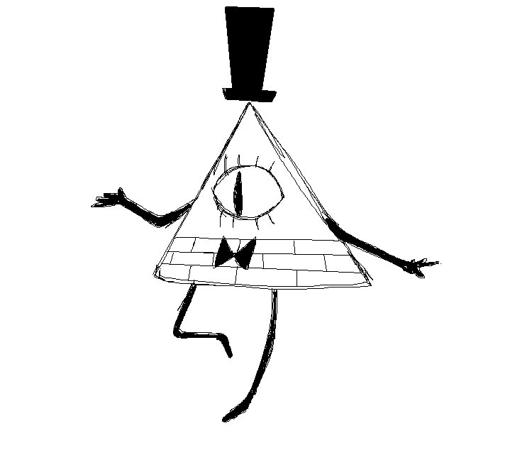 Sketchy Bill Cipher By Marshalltrap On Deviantart
