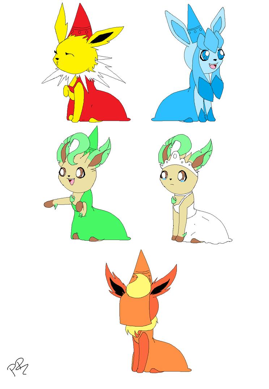 Eeveelutions princesses by marshalltrap on deviantart - Castle crashers anime ...