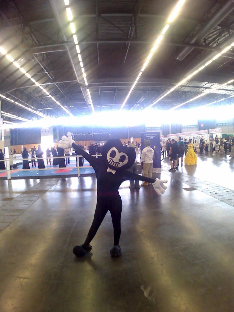 Bendy cosplay japan expo 2017 by marshalltrap on deviantart - Date japan expo 2017 ...